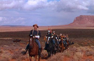 She wore a yellow ribbon (John Ford, 1949)
