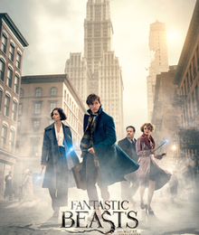 Fantastic beasts and where to find them (David Yates, 2016)