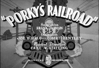 Porky's railroad (Frank Tashlin, 1937)