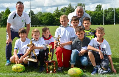 Sport Rugby Lot Lémance : Les U12 brillent à Bergerac