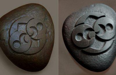 Une mystérieuse pierre qui a été découverte en 2004 près de Roswell par un chasseur est la copie conforme d'un Crop Circle de 1996