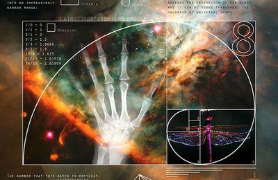 La structure de l'ADN obéit précisément aux suites des nombres de Fibonacci et de Lucas