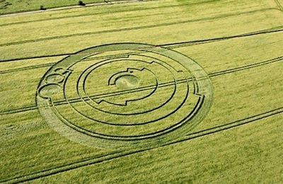 Interprétation d'un Crop Circle de 2008