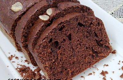 Cake cacao amandes