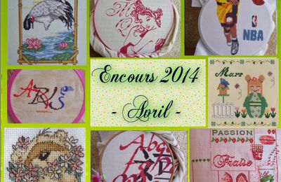Les encours 2014 - Avril