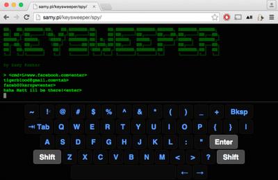 Un keyloggeur pour les claviers sans fils de Microsoft