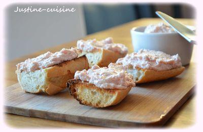 Tartinade de jambon blanc