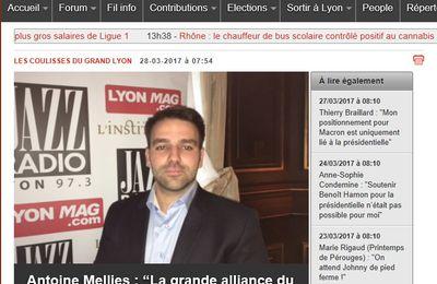 """Retrouvez l'entretien d'Antoine MELLIES sur Jazz Radio dans """"Les coulisses du Grand Lyon"""""""