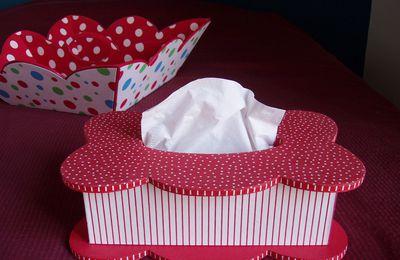 Cours de cartonnage : la boîte à mouchoirs