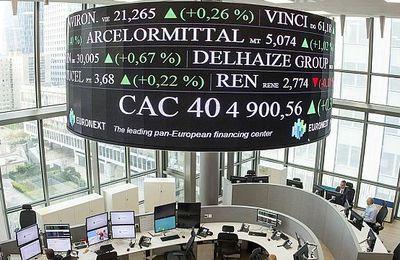 CAC 40 : bénéfices en hausse de 28%