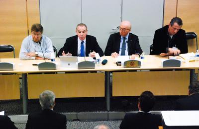 En colloque à l'Assemblée Nationale aux côtés du député Alain Moyne-Bressand