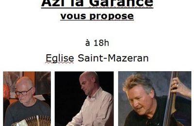 Du tango nuevo en l'église saint-Mazeran