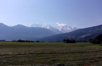 VTT dans les Alpages du Jaillet (au-dessus de Combloux)