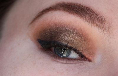 Look du jour : maquillage bronze