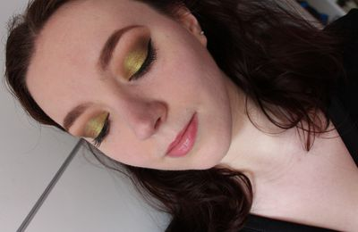Look du jour : old gold