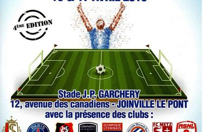 "Joinville-le-Pont : Tournoi "" Joinville Cup U13 "" ce week-End."