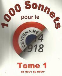 """""""Sonnets pour la Grande Guerre"""" par Pascal Lefèvre, le 8 novembre 2014, à Metz Queuleu"""