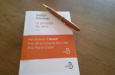 "Saïdeh Pakravan ""Le principe du désir"" Belfond"
