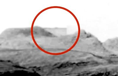 UN BÂTIMENT EXTRATERRESTRE SUR MARS ? PHOTO