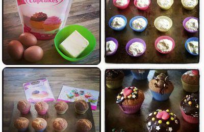 Les cupcakes Vahiné avec Les Initiés