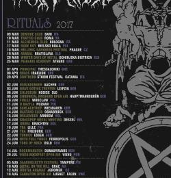 ROTTING CHRIST Nouvelle tournée européenne