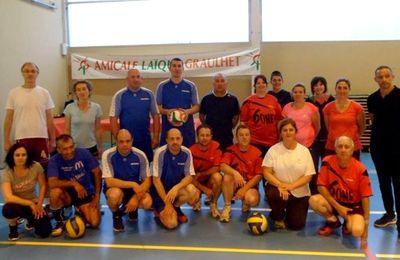 Volley : Mini-tournoi final et récompenses