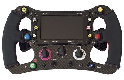 Volant F1 - SMRF1 par Speed Max Racing et 3DRap.it