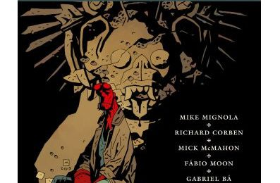 Comics 'Round up  /  Hellboy au Mexique  Vs.  Night of the bloody apes
