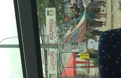 Un dimanche de galère dans les mapanes d'Abidjan