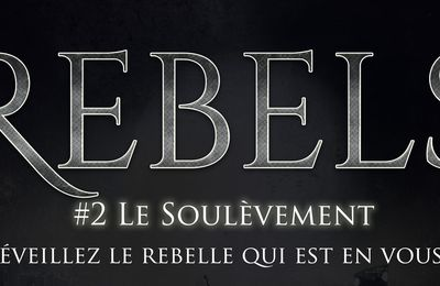 Couverture du second tome de #Rebels !