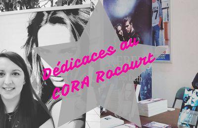 Séance de dédicaces au Cora Rocourt : compte-rendu vidéo.