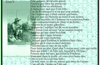 Le Petit Poisson et le Pêcheur  Fable de Jean de La Fontaine
