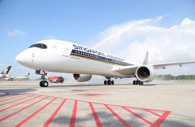 Singapore Airlines prend livraison de son premier A350