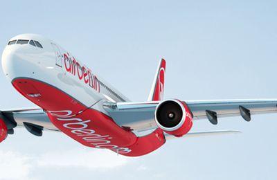 Air Berlin va supprimer 1200 postes et louera ses avions