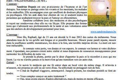 """""""Meurs, mon fils, je t'aime"""" de Sandrine Dupuis dans le Bibliothécaire"""