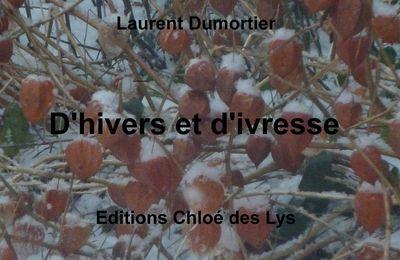"""""""Des cendres en décembre"""", une poésie de Laurent Dumortier extraite de son dernier recueil """"D'hivers et d'ivresse"""""""