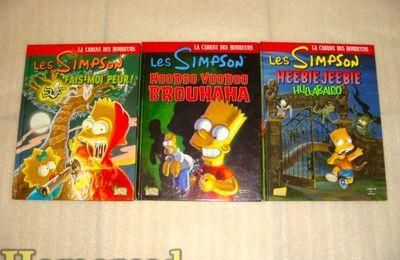 (Simpson) BD Simpson : La cabane des horreurs Tome1,2 et 3