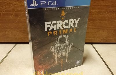 (Unboxing) Far Cry Primal Collector PS4