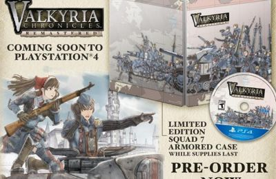 (Pré-commande) Valkyria Chronicles Remastered – Edition Europa sur PS4