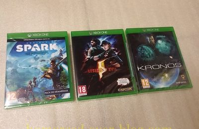 (XBOX ONE) Project Spark, RE5 et Battle Worlds : Kronos