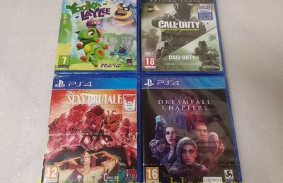 (PS4) MAJ du 04/06/17 de ma collection PS4