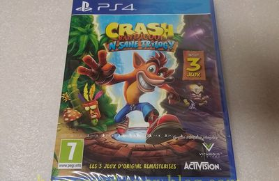 (PS4) Crash Bandicoot N-Sane Trilogy + Bonus