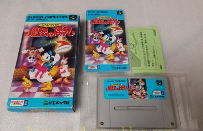 (Super Famicom) Donald Duck No Mahou No Boushi + Collection Super Famicom