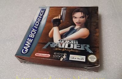 (Tomb Raider) The Prophecy GBA + Tomb Raider (Le reboot sur PC)