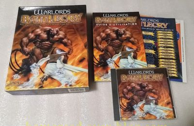 (Arrivage) Arrivage du 01/10/2017 : 2 Jeux PC - Warlords Battlecry + Gros Collector de Age of Conan