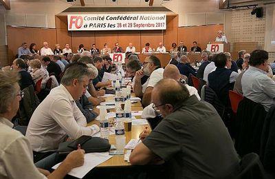 Comité Confédéral National de FO : FO déterminée à agir contre les ordonnances