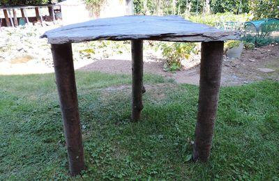 Comment faire une petite table de jardin