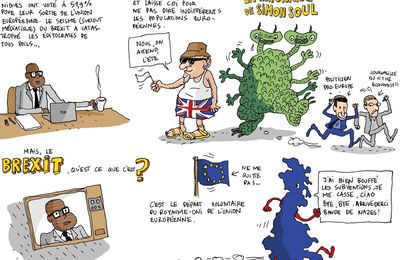 Brexit, monstre de pacotille; La chronique de Simon Soul