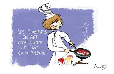 De l'art culinaire d'enseigner l'art