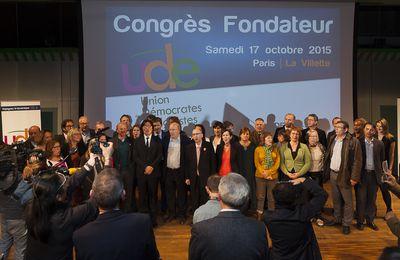 Congrès fondateur de l'UDE à la Cité des sciences